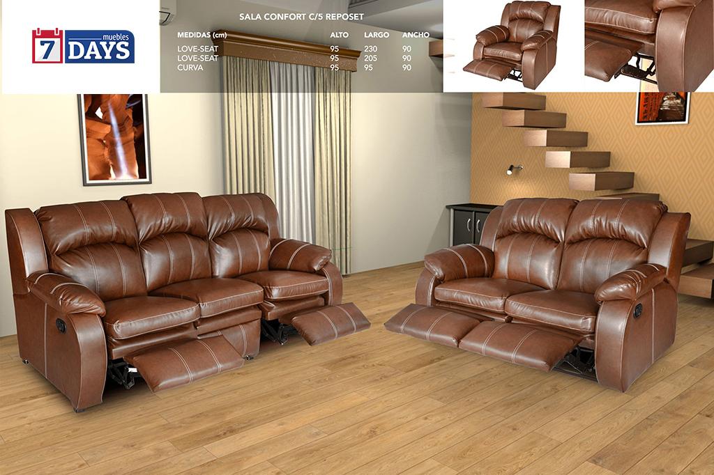 Sala Confort c/ 5 Reposet